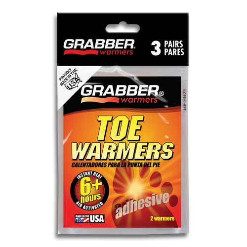 Display product reviews for Grabber Toe Warmers 3 Pairs