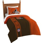 The Northwest Company Cleveland Browns Twin Comforter and Sham Set