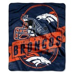 The Northwest Company Denver Broncos Grandstand Raschel Throw