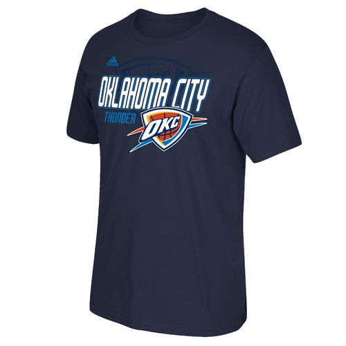adidas™ Men's Oklahoma City Thunder Tip Off Distressed Back Logo T-shirt