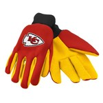 Team Beans Adults' Kansas City Chiefs 2-Color Utility Gloves