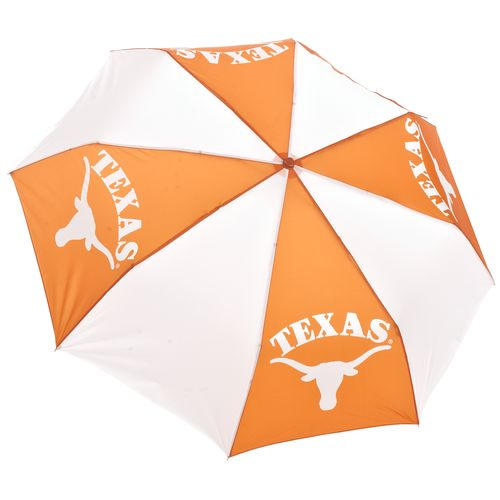 "Storm Duds University of Texas 42"" Super Pocket Mini Folding Umbrella"
