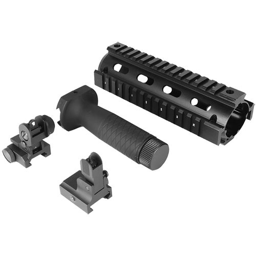 Display product reviews for AIM Sports Inc. AR-15/M4 Railed Fore-End Grip and Sights Kit