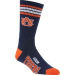 For Bare Feet Adults' Auburn University 4-Stripe Deuce Socks