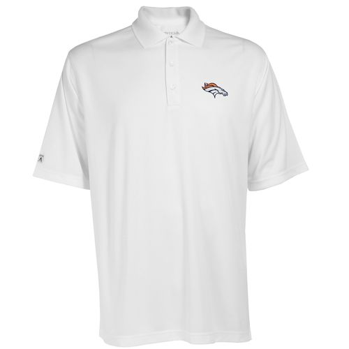 Antigua Men's Denver Broncos Exceed Polo Shirt - view number 1