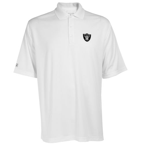 Antigua Men's Oakland Raiders Exceed Polo Shirt - view number 1