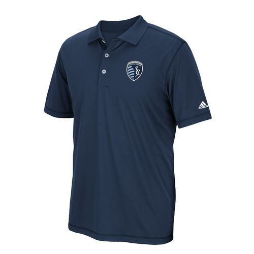 adidas™ Men's Sporting Kansas City Puremotion Solid Jersey Polo Shirt