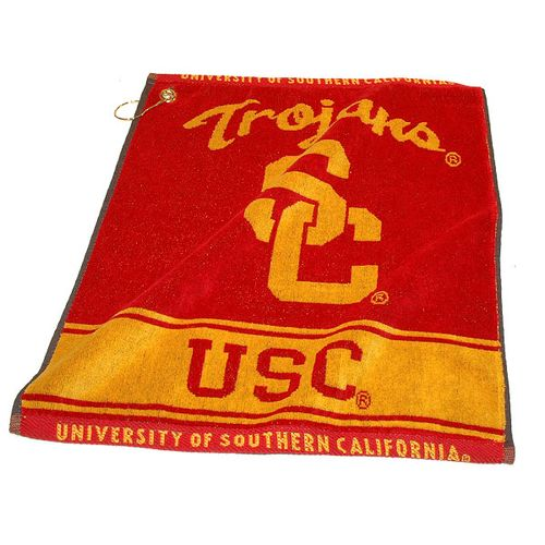 Team Golf University of Southern California Woven Towel