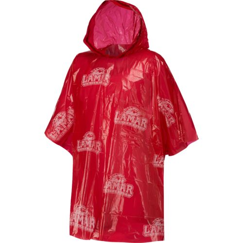Storm Duds Adults' Lamar University Lightweight Stadium Poncho - view number 1