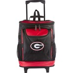 Logo™ University of Georgia 48-Can Rolling Cooler - view number 1