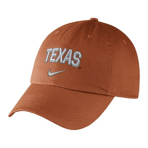 Nike™ Men's University of Texas Heritage86 Wordmark Swoosh Flex Cap
