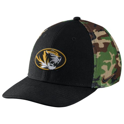 Nike™ Men's University of Missouri Camo Hook Cap