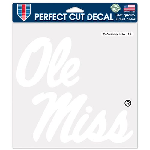 WinCraft University of Mississippi Perfect Cut Decal