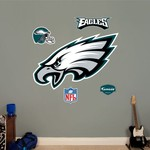 Fathead Philadelphia Eagles Real Big Team Logo Decal