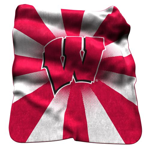 Logo™ University of Wisconsin Raschel Throw