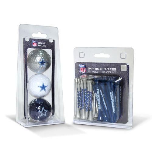 Team Golf Dallas Cowboys Golf Balls and Tees Set