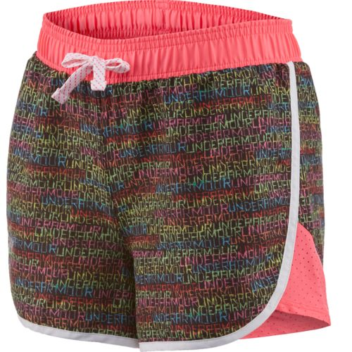 Under Armour™ Girls' Fast Lane Novelty Short