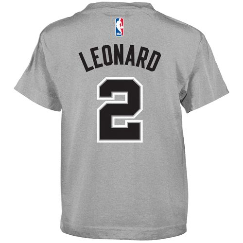 NBA Boys' San Antonio Spurs Kawhi Leonard Flat Player T-shirt