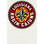 "Stockdale University of Louisiana at Lafayette 4"" x 7"" Decals 2-Pack"