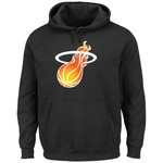 Majestic Men's Miami Heat Hardwood Classics Tek Patch™ Hoodie