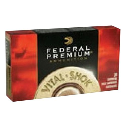 Federal Premium Vital-Shok Trophy Copper Centerfire Rifle Ammunition