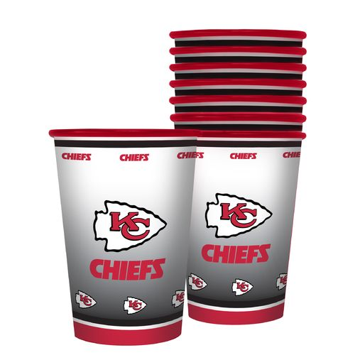 Boelter Brands Kansas City Chiefs 20 oz. Souvenir Cups 8-Pack