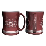 Boelter Brands Mississippi State University 14 oz. Relief Mugs 2-Pack - view number 1