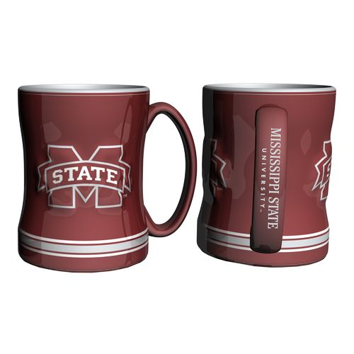 Boelter Brands Mississippi State University 14 oz. Relief Mugs 2-Pack