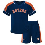 Majestic Toddlers' Houston Astros Baseball Classic Shirt and Short Set