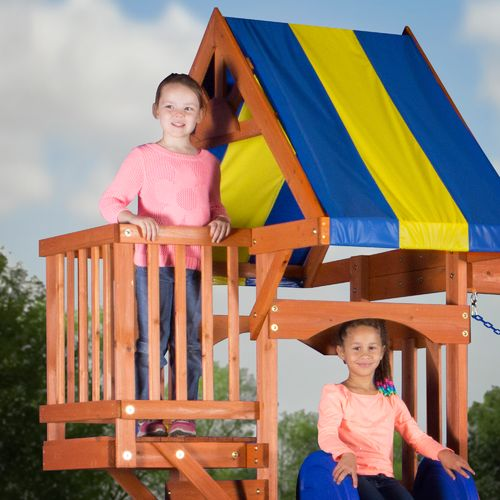 Backyard Discovery™ Peninsula Wooden Swing Set - view number 3