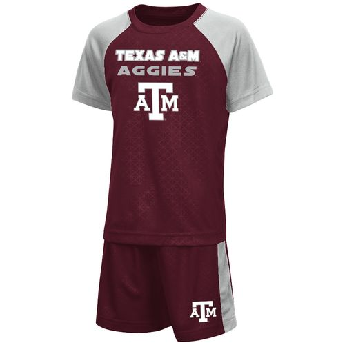 Colosseum Athletics Toddler Boys' Texas A&M University Gridlock Set