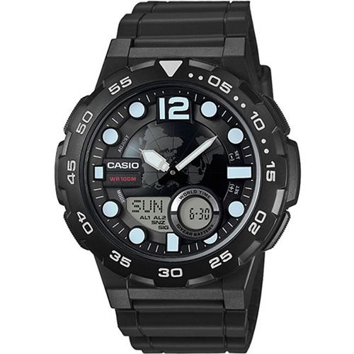 Casio Men's Analog/Digital Dive Style Watch