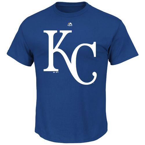 Majestic Men's Kansas City Royals Official Logo T-shirt