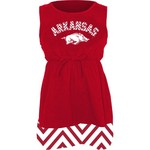 Klutch Apparel Toddlers' University of Arkansas Chevron Dress