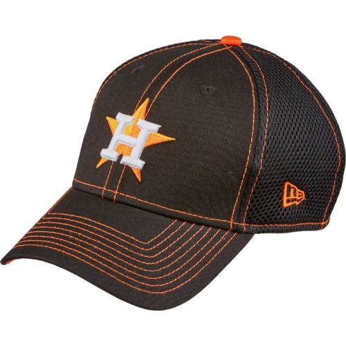 New Era Men's Houston Astros 39THIRTY Crux Line