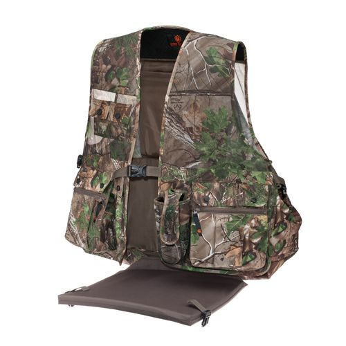 Game Winner Men's Camo Mesh Turkey Vest
