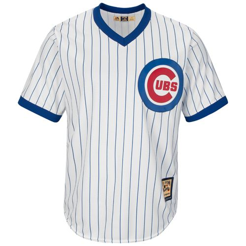 Majestic Men's Chicago Cubs Andre Dawson #8 Cooperstown Cool Base 1968-69 Replica Jersey - view number 2