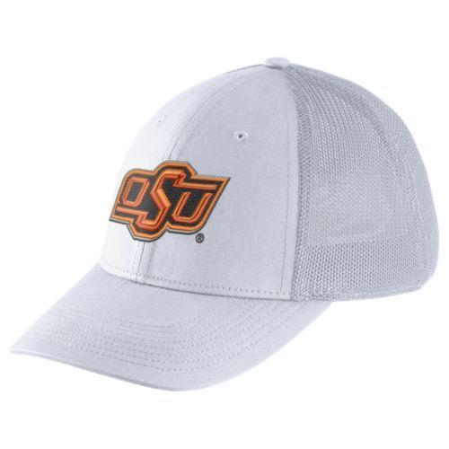 Nike™ Men's Oklahoma State University Dri-FIT Legacy91 Mesh Back Swoosh Flex Cap