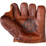 Shoeless Joe® Men's Golden Era Gloves 1910 Fielder's Glove - view number 2