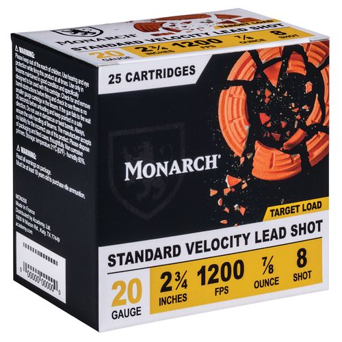 Monarch® Target Loads 20 Gauge Shotshells