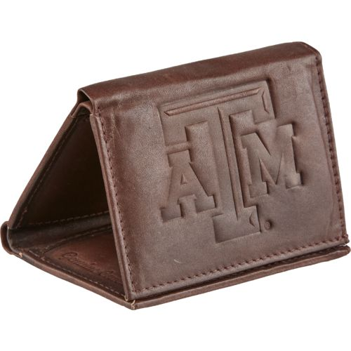Rico Men's Texas A&M University Trifold Wallet