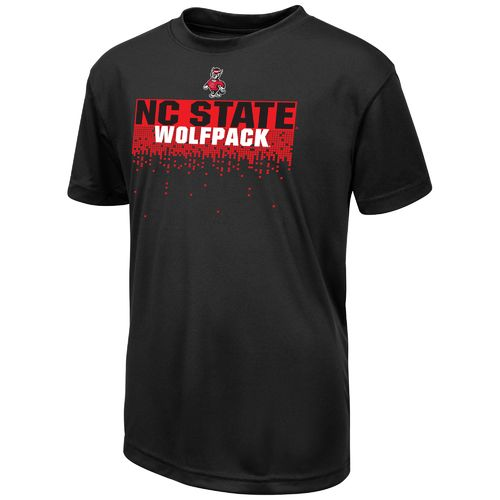 Colosseum Athletics™ Boys' North Carolina State University Pixel T-shirt