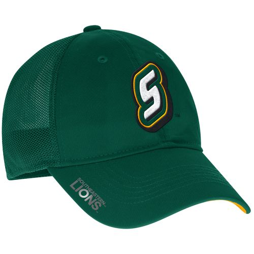 adidas™ Men's Southeastern Louisiana University Coach Flex Meshback Slope Cap