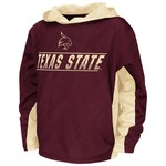 Colosseum Athletics™ Juniors' Texas State University Sleet Pullover Hoodie
