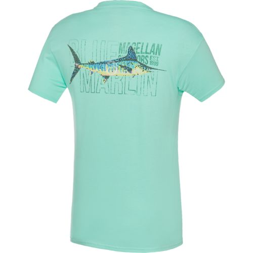 Magellan Outdoors Men's Mosaic Marlin Pocket T-shirt