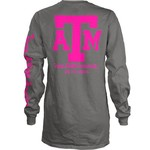Three Squared Juniors' Texas A&M University Cynthia Pocketed Long Sleeve T-shirt