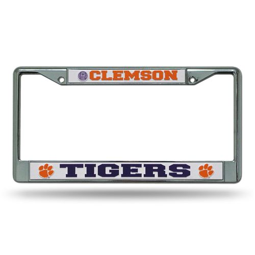 Rico Clemson University Chrome Frame