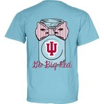 Blue 84 Women's Indiana University Mason Jar Overdyed T-shirt