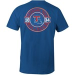 Image One Men's Louisiana Tech University Rounds Comfort Color T-shirt