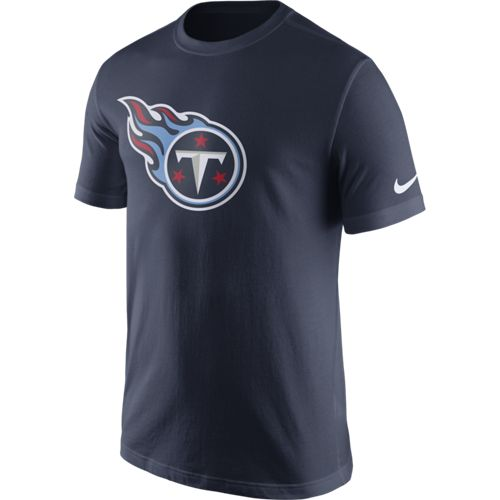 Nike Men's Tennessee Titans Essential Logo T-shirt